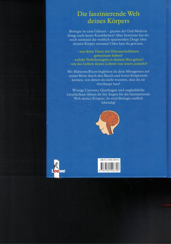 2 Bücher Wahnsinnswissen - Die faszinierende Welt deines Körpers ...