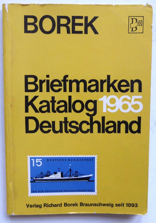Borek Briefmarken Katalog Deutschland Bücher Gebraucht