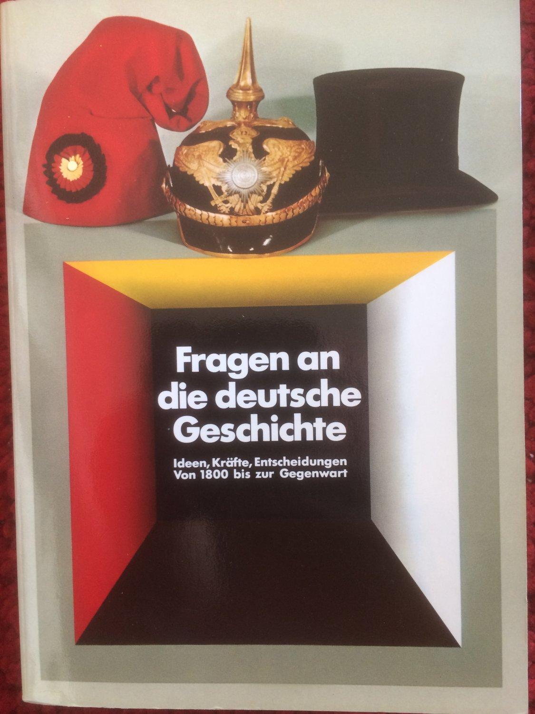 """""""Fragen an die deutsche Geschichte"""" – Bücher gebraucht, antiquarisch & neu  kaufen"""