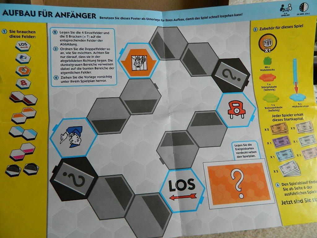 Monopoly u-build - Hasbro - variables Spielbrett - Spielplan ...