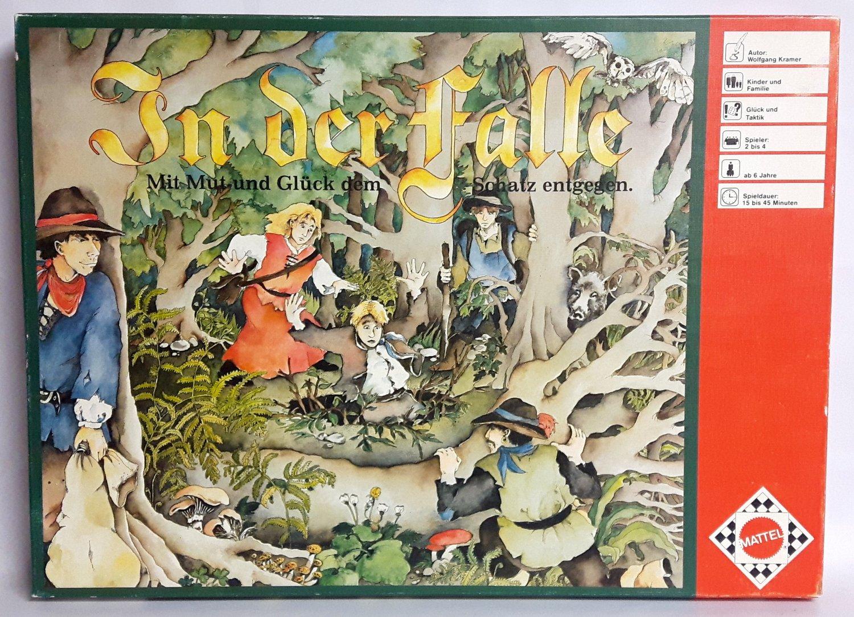 In Der Falle Von Wolfgang Kramer 1987 Mattel Ab 6 Jahren