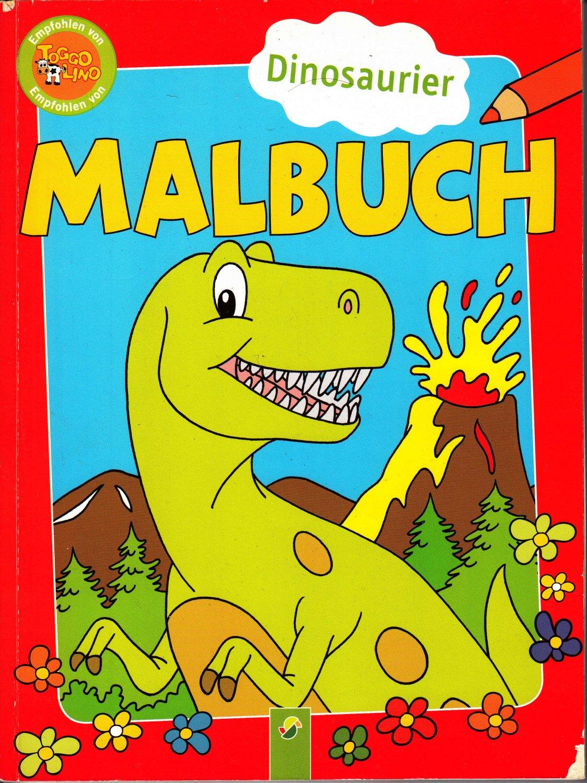 Sonstige Mal- & Zeichenmaterialien für Kinder Malbuch ab 5 Jahren Mit bunten Malvorlagen Broschüre Deutsch 2018