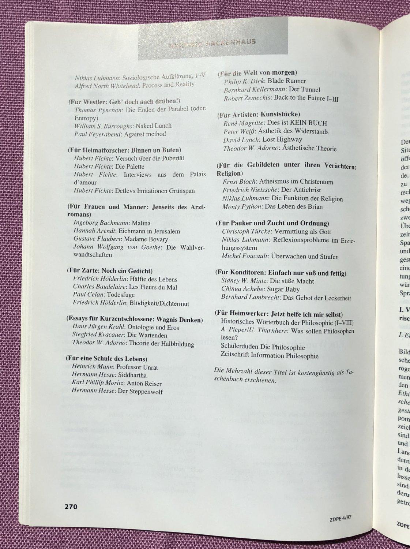 Zeitschrift für Didaktik der Philosophie und Ethik: Weihnachten ...