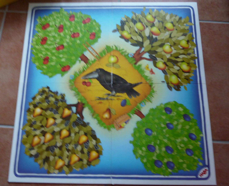 Obstgarten Haba 4170 Ersatzteil  Puzzlekarte 8
