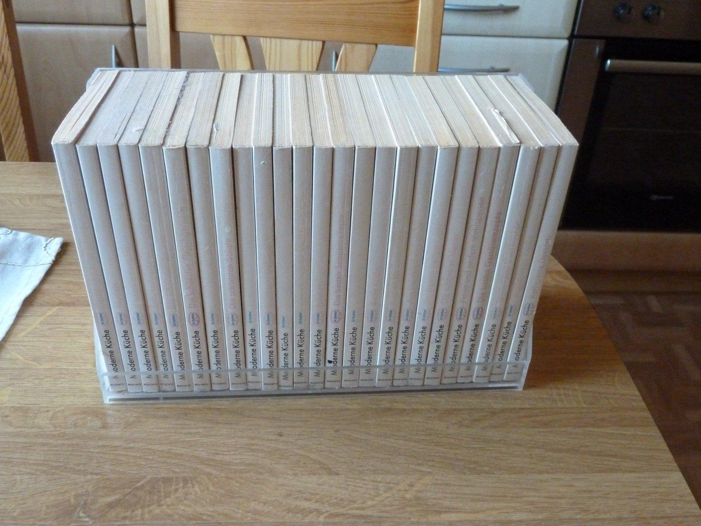 Moderne Küche-Dr.Oetker -Kochbuchsammlung