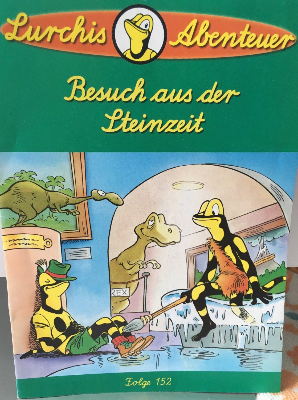 cheap for discount 72471 f688d Lurchis Abenteuer. Besuch aus der Steinzeit. Folge 152