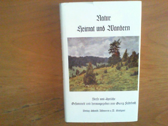 Fahrbach Georg Natur Heimat Und Wandern Verse Und Sprüche