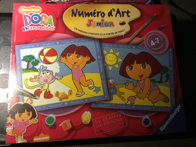 Malen Nach Zahlen Nickelodeon Dora