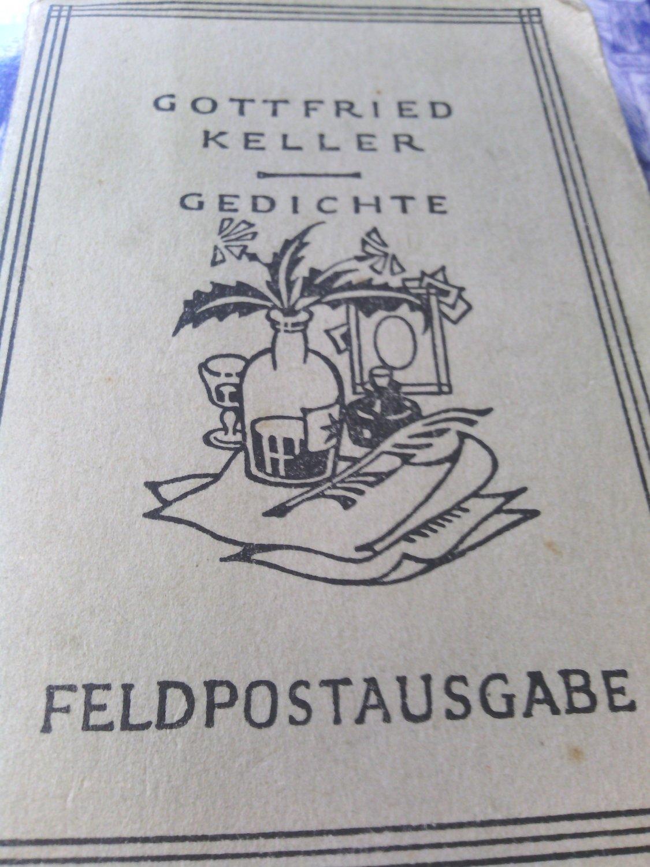 Gottfried Keller Gedichte Feldpostausgabe Bücher