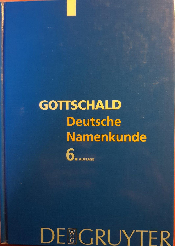 deutsche namenkunde schtzeichel rudolf gottschald max