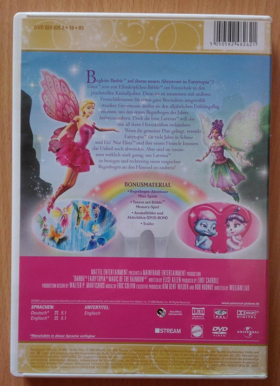 Barbie Fairytopia Die Magie Des Regenbogens Film Gebraucht