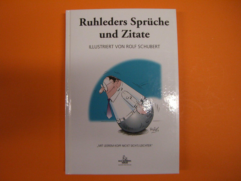 """Ruhleders Sprüche und Zitate"""" – Bücher gebraucht, antiquarisch"""