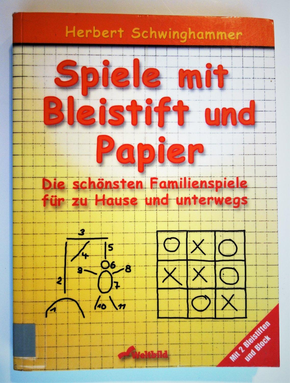 Isbn 9783896046963 Stift Und Blattspiele Neu Gebraucht Kaufen