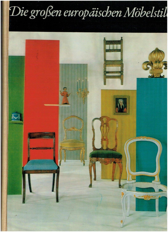 Die Grossen Europäischen Möbelstile Bücher Gebraucht