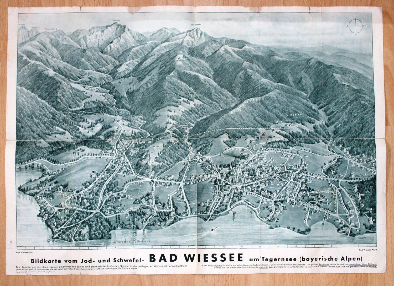 Bildkarte Vom Jod Und Schwefel Bad Wiessee Am Tegernsee