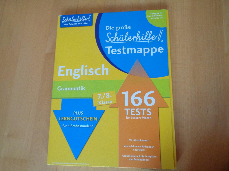 Testmappe Englisch Grammatik 7 8 Klasse 166 Tests W Die Grosse Schulerhilfe Buch Gebraucht Kaufen A02mqmqy01zzd