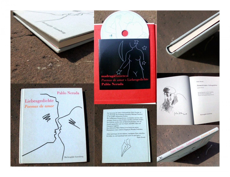 Poemas De Amor Liebesgedichte Spanisch Deutsch Aus Dem Spanischen Von Fritz Vogelsang Mit Illustrationen Von Nelson Leiva Vertont Vom Ensemble