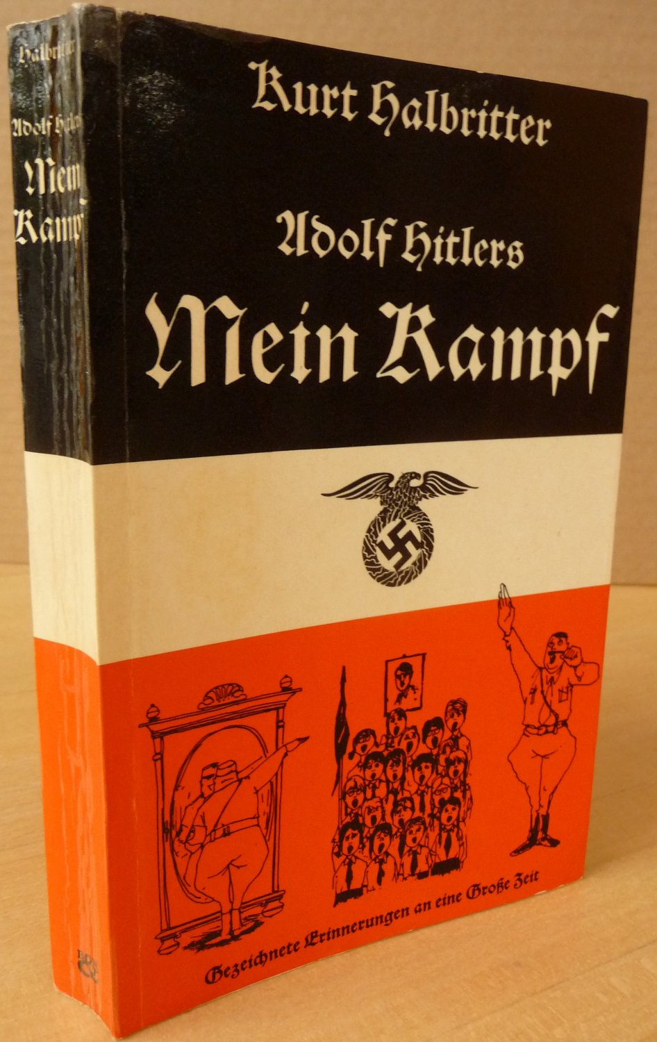 adolfs hitler mein kampf signiert erstausgabe kurt. Black Bedroom Furniture Sets. Home Design Ideas