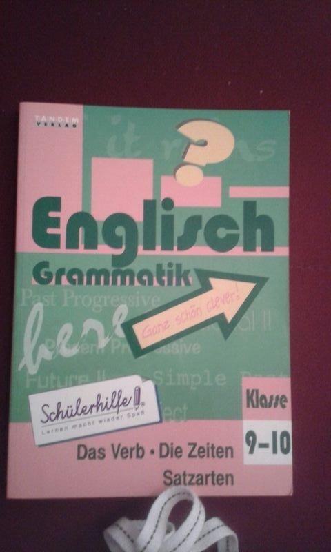 Englisch Grammatik Klasse 9 10 Schulerhilfe Bucher Gebraucht Antiquarisch Neu Kaufen