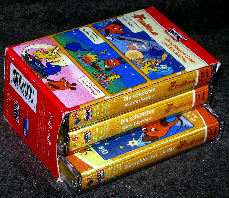 Die Maus Box Folge 7 9 3 Audio Cassetten Horbuch Gebraucht Kaufen A02my1iw31zzz