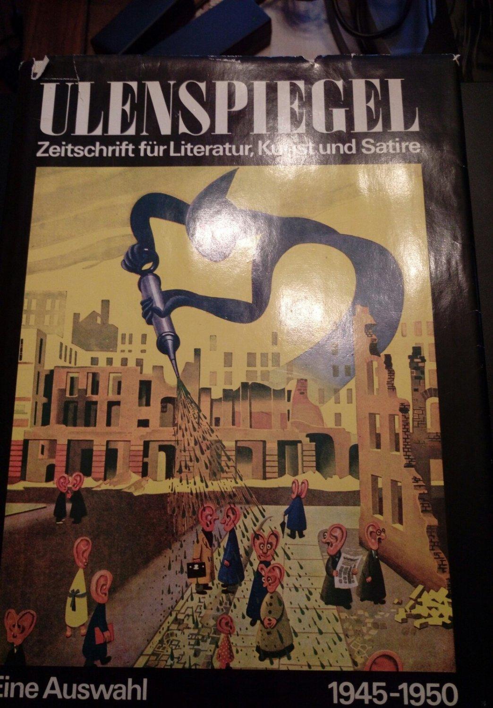 Ulenspiegel 1945 1950 Zeitschrift Fur Literatur Kunst Und Satire