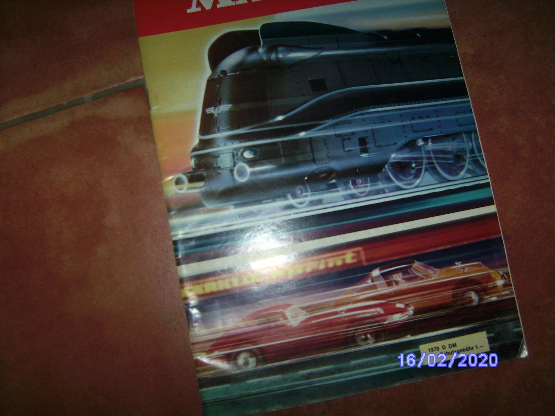 MÄRKLIN Katalog 1970 D sehr guter Zustand