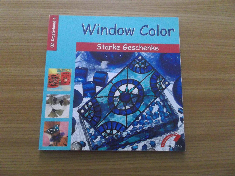 """window color  starke geschenke  oz kreativband 4 ideal"