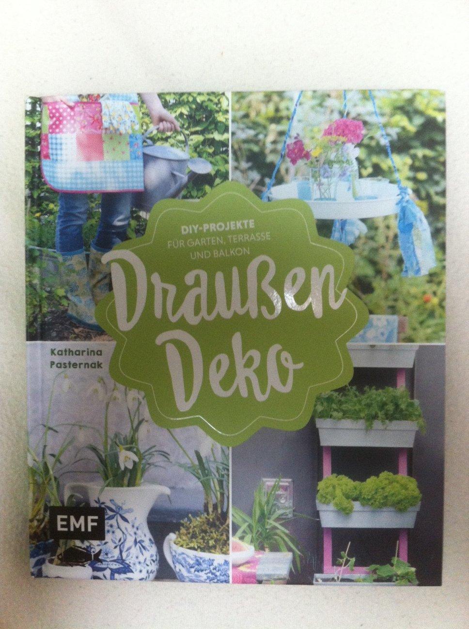 Draußen Deko   DIY Projekte für Garten, Terrasse und Balkon