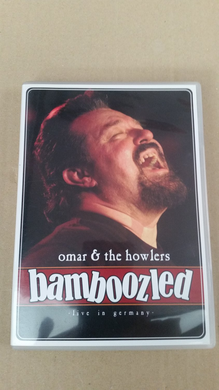 """Bamboozled Live In Germany"""" Omar And The Howlers – Tonträger ..."""