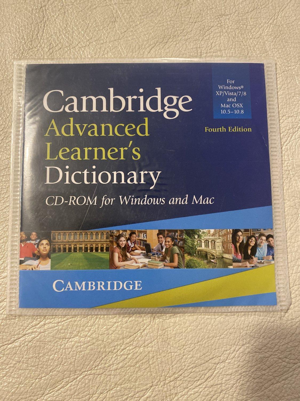 "Cambridge Advanced Learners Dictionary"" Cambridge University ..."