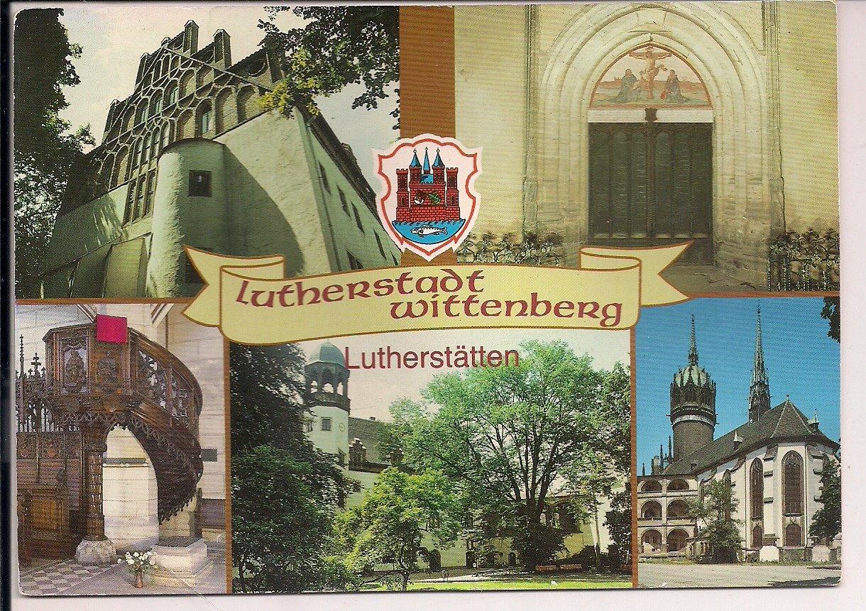 Ak Color Lutherstadt Wittenberg Lutherstatten Veb Bild Und Heimat Verlag Reichenbach Vogtland Buch Erstausgabe Kaufen A02rdzns01zzd