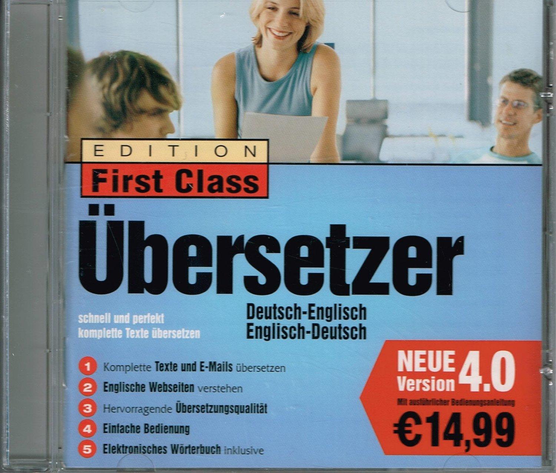 Übersetzer Deutsch Englisch Englisch Deutsch   CD Version