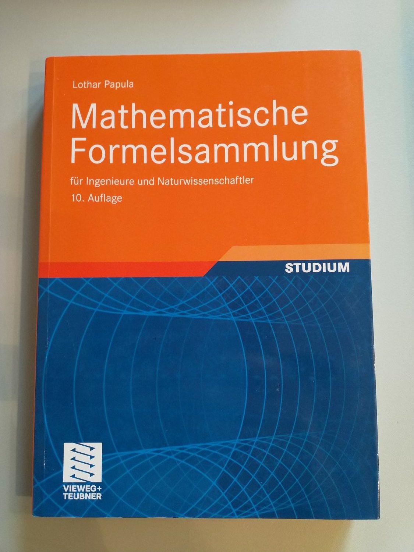 Mathematische Formelsammlung Fur Ingenieure Und Lothar Papula Buch Gebraucht Kaufen A02soihj01zz5