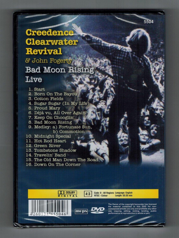 "Creedence Clearwater Revival & John Fogerty Bad Moon ..."" – Film ..."