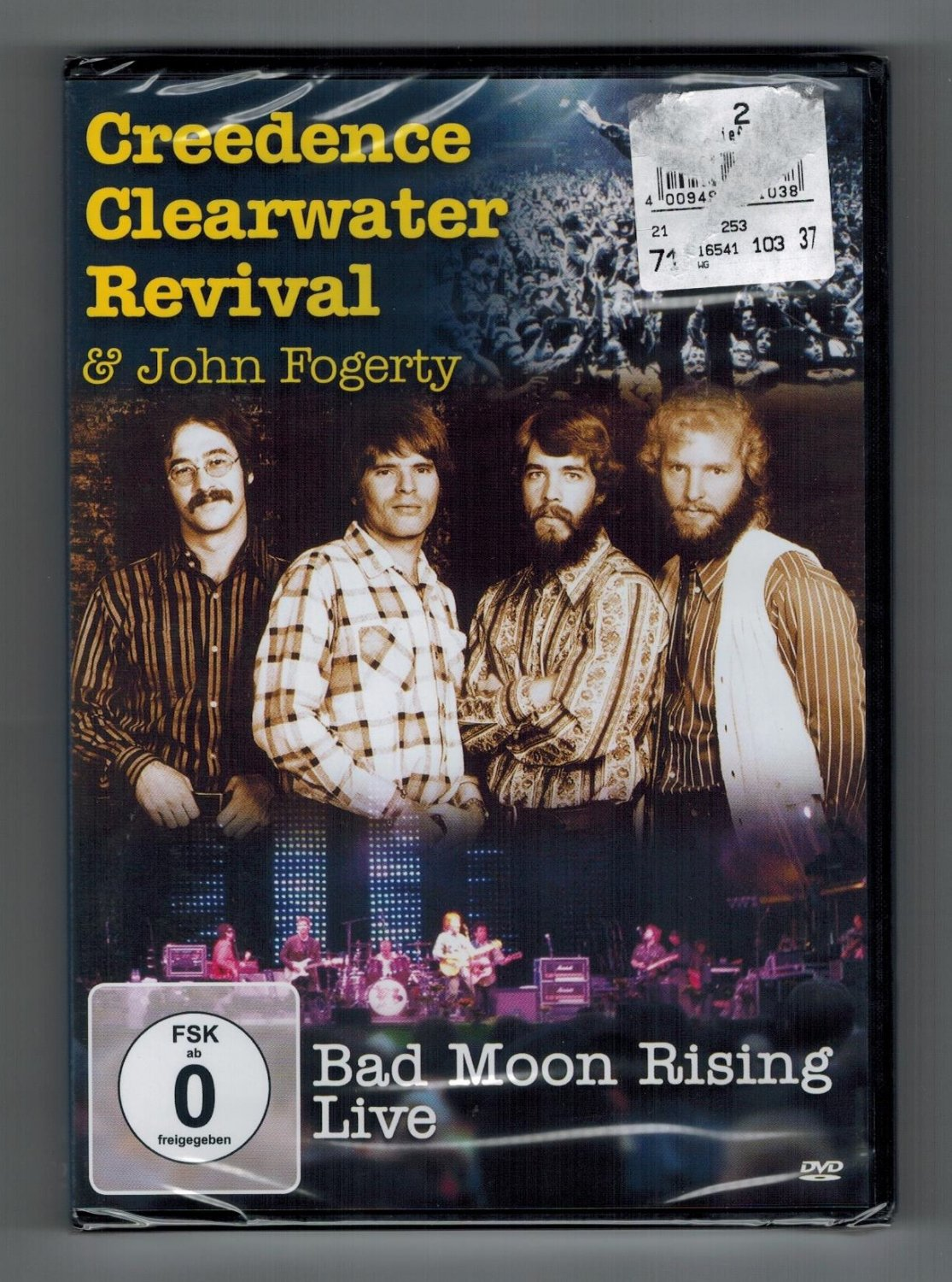 Creedence Clearwater Revival & John Fogerty Bad Moon Rising Live. OVP