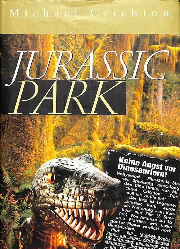Jurassic Park Buch