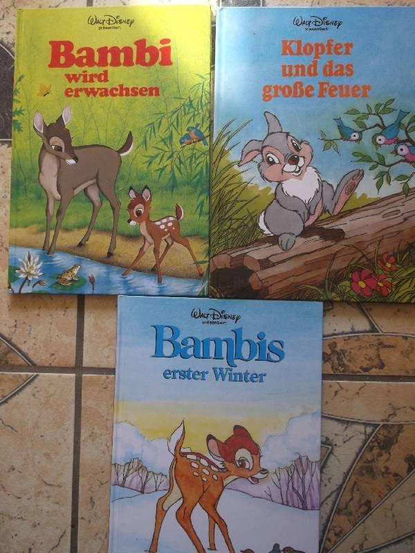Bambis erster Winter Bambi wird erwachsen Klopfer und das groe
