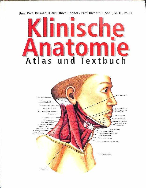 Klinische Anatomie Atlas und Textbuch mit über 400 farbigen ...