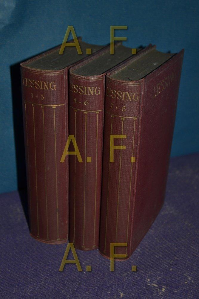 """Lessing Werke Und Briefe In 12 Bänden : """"lessing gotthold ephraim werke in bänden"""" bücher"""