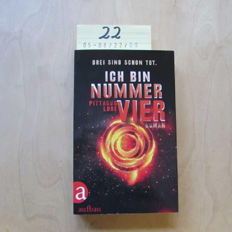 Ich Bin Nummer 4 Buch