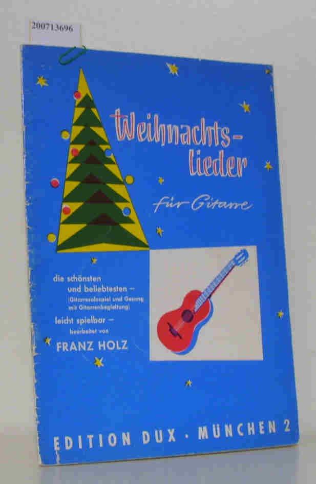 weihnachtslieder für gitarre\