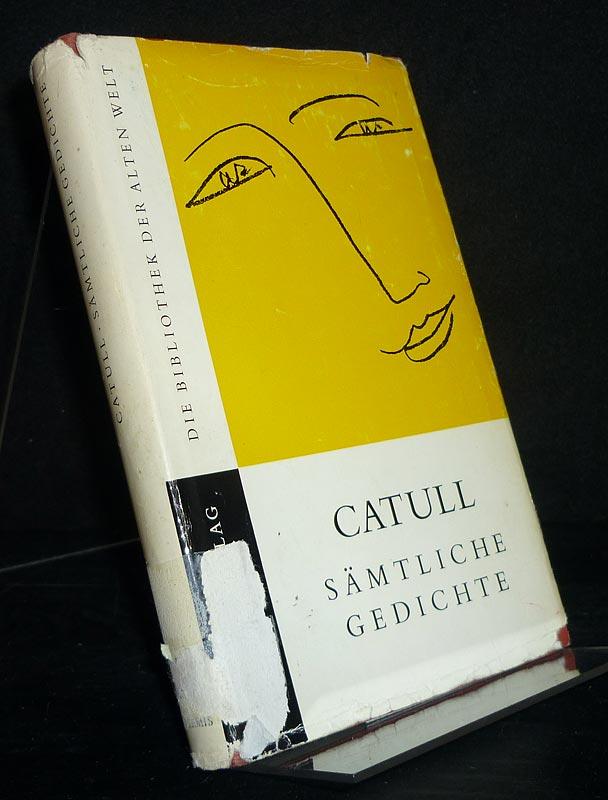 Otto Weinreich Catull Sämtliche Gedichte Bücher