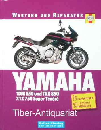 """Yamaha TDM 850, TRX 850 & XTZ 750"""" (Matthew Coombs) – Buch ..."""