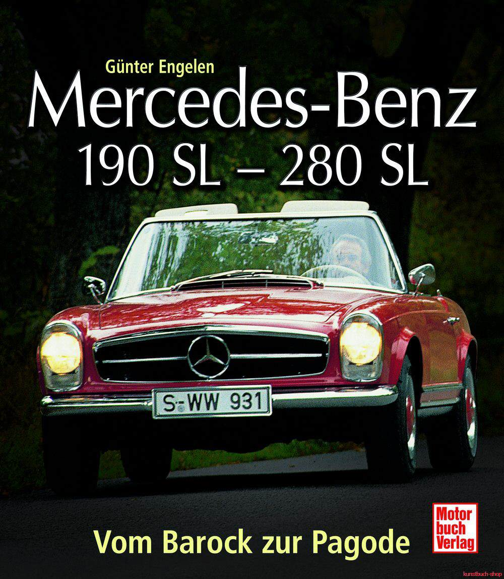engelen g nter mercedes benz 190 sl 280 sl vom barock. Black Bedroom Furniture Sets. Home Design Ideas