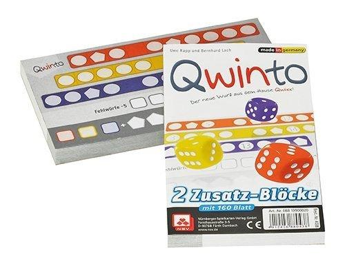"""Qwinto Zusatzbloecke """" (Lach Bernhard Rapp) – Spiel neu kaufen ..."""