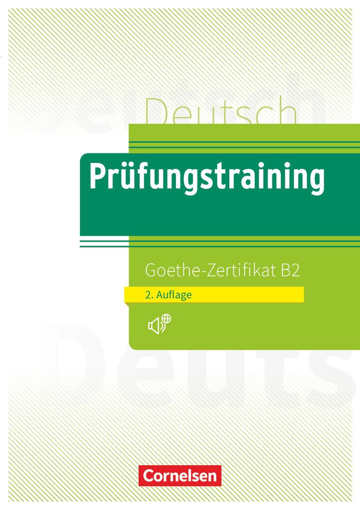 Isbn 9783061217754 Prüfungstraining Daf B2 Goethe Zertifikat B2