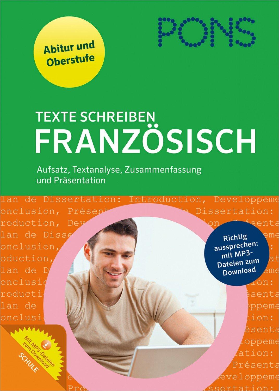 Pons Texte Schreiben Französisch Aufsatz Textanalyse