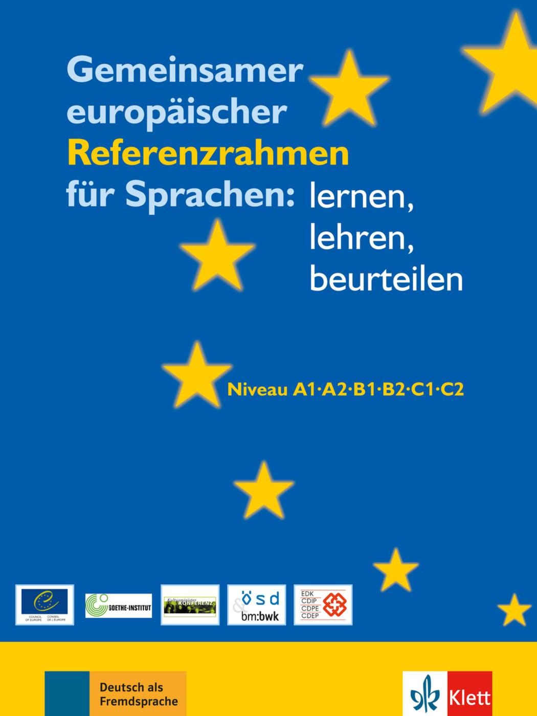 """Gemeinsamer europäischer Referenzrahmen für Sprachen"""" – Bücher ..."""