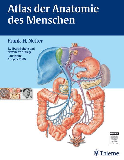 """Atlas der Anatomie des Menschen"""" (Netter Frank H) – Buch gebraucht ..."""