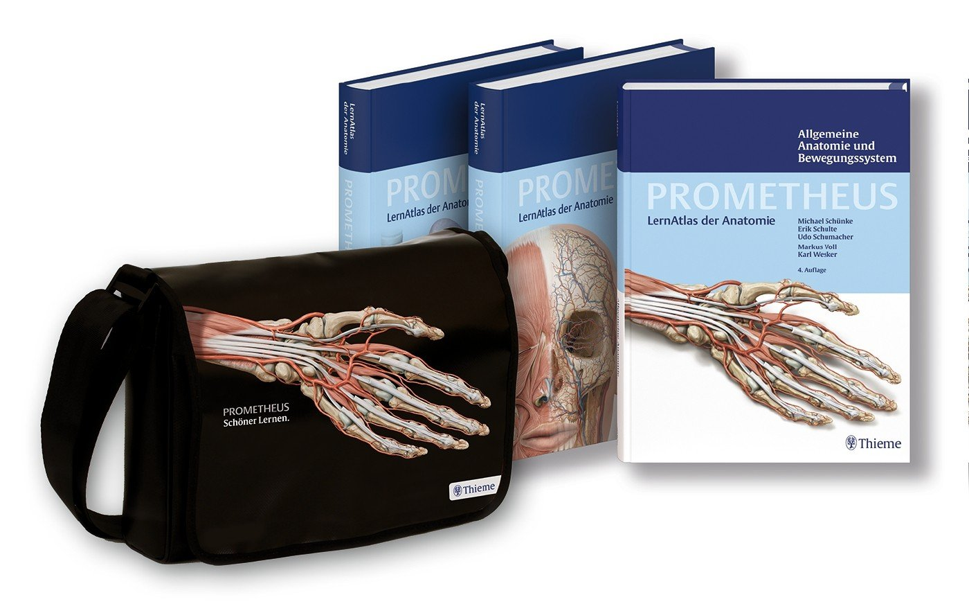 Prometheus: LernAtlas der Anatomie - Paket Die drei Anatomie-Bände ...